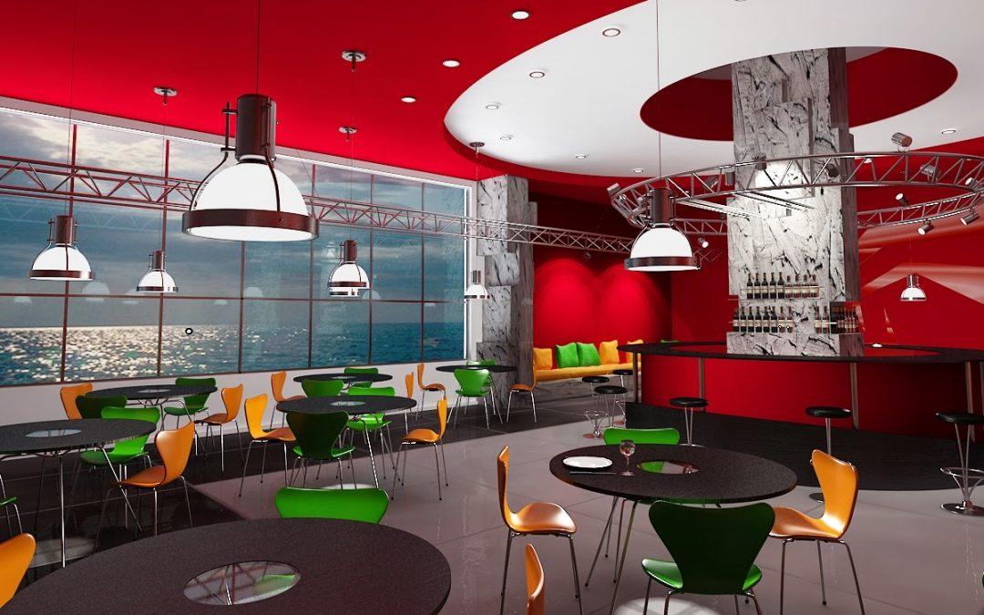 Gergi Tavan Cafe Restaurant Gibi İşyerlerinde Kullanılabilir mi?