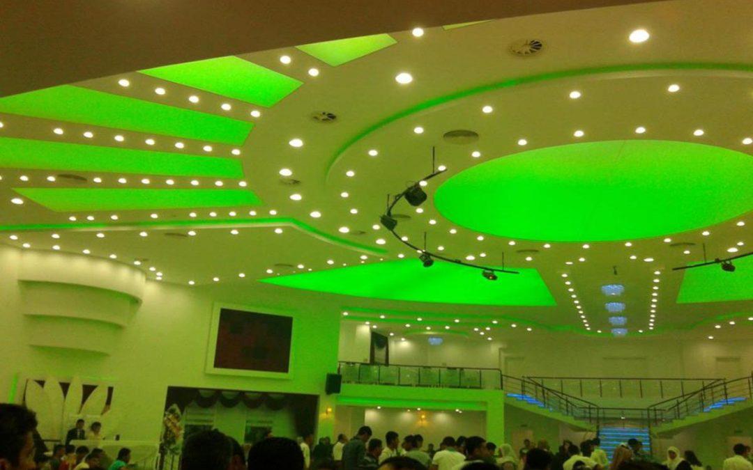 Düğün Salonu Tavan Dekorasyonu