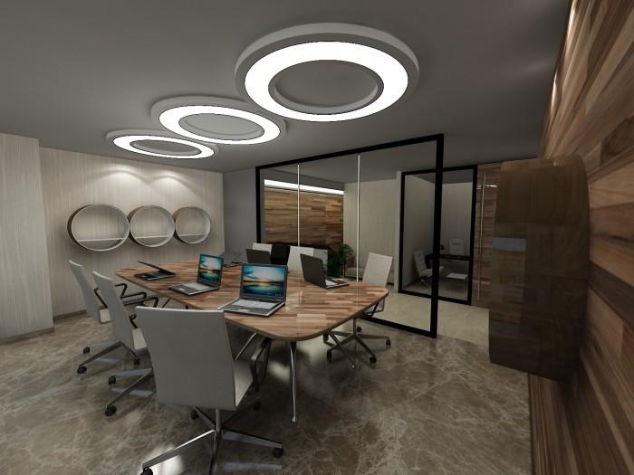 Ofis Tavan Dekorasyonu